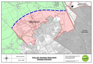 Houghton Regis North - Land Allocation
