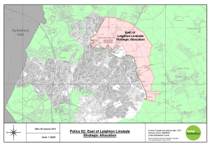 Leighton and Linslade East - Land Allocation