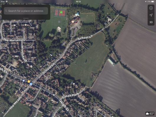 Arial View Land Off Eaton Park Eaton Bray